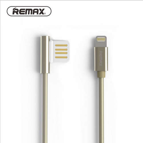 2182 Кабель USB iPhone5 1m Remax (золото) RC-054