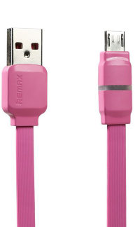 5-909 Кабель micro USB 1m Remax (розовый)